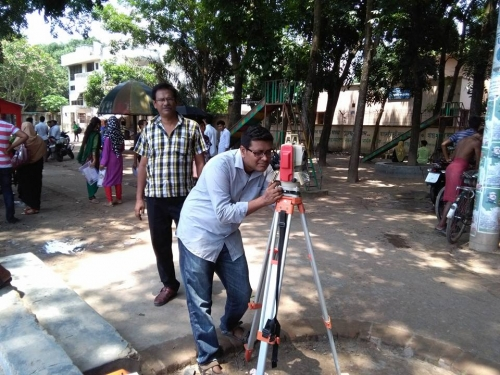 Digital Land Survey in Shahid Abdur Razzak Park